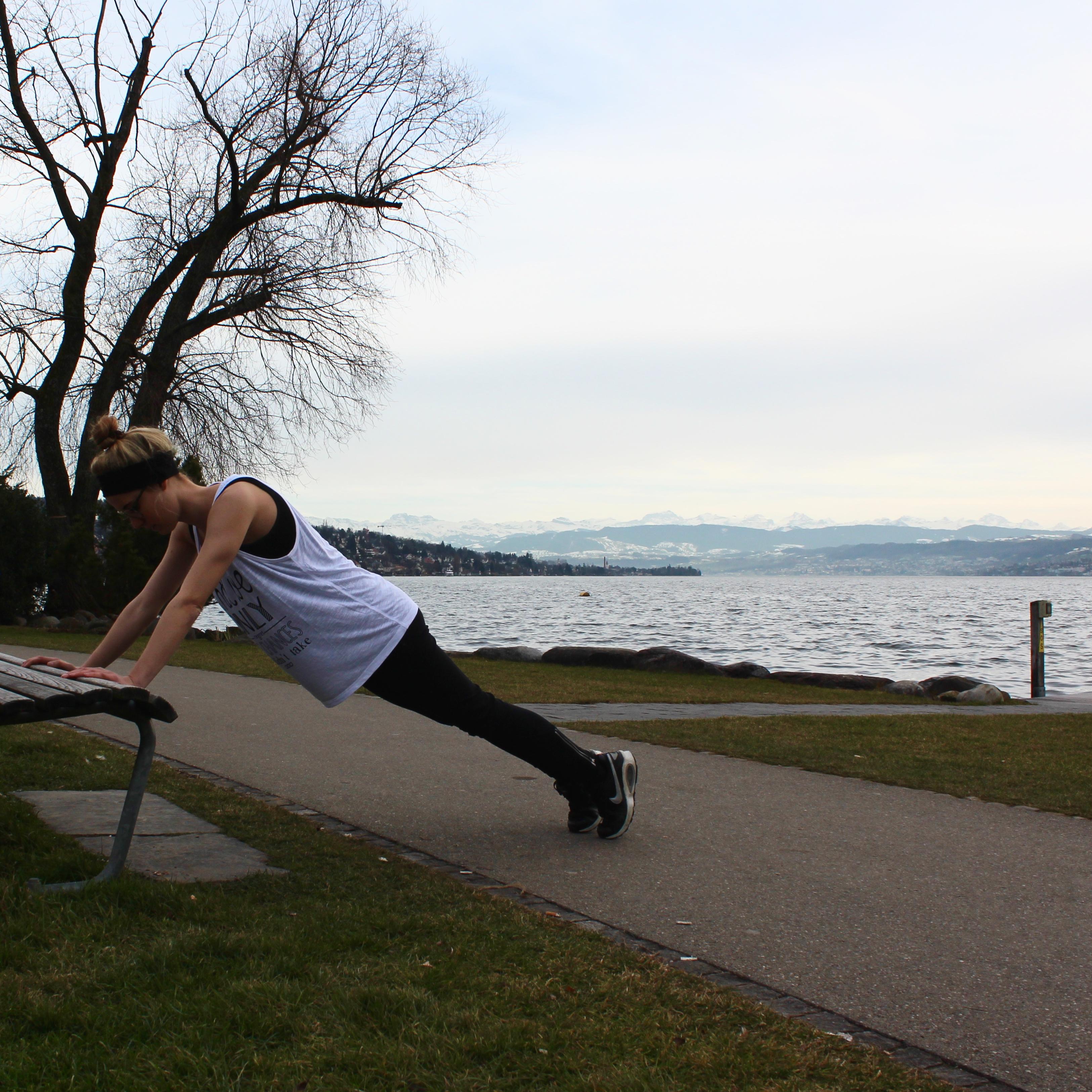 Parkbank-Workout